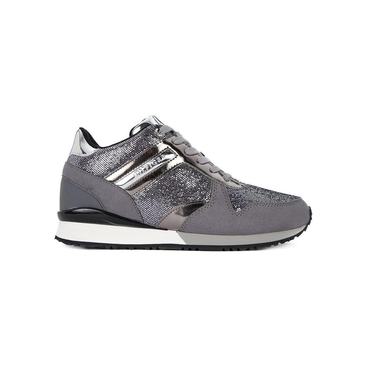 eb27d8233c3 Tommy Hilfiger Fw0fw02763 Women s Shoes (trainers) In Grey in Gray ...