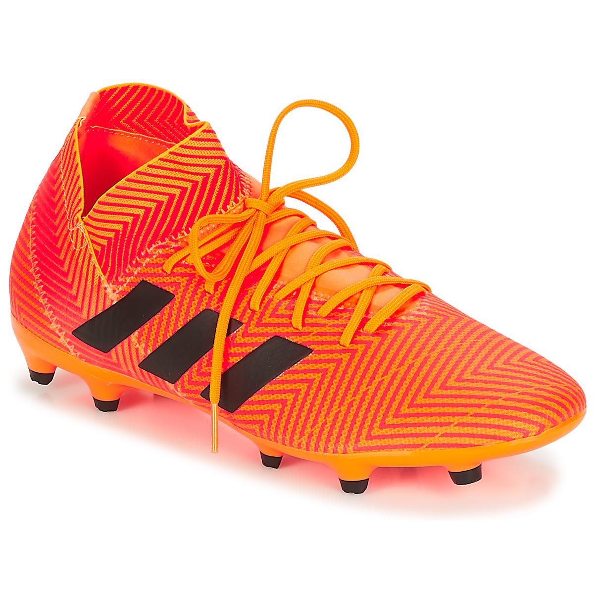 adidas Nemeziz 18.3 Fg Men s Football Boots In Multicolour in Orange ... fd89d69d9cfaf