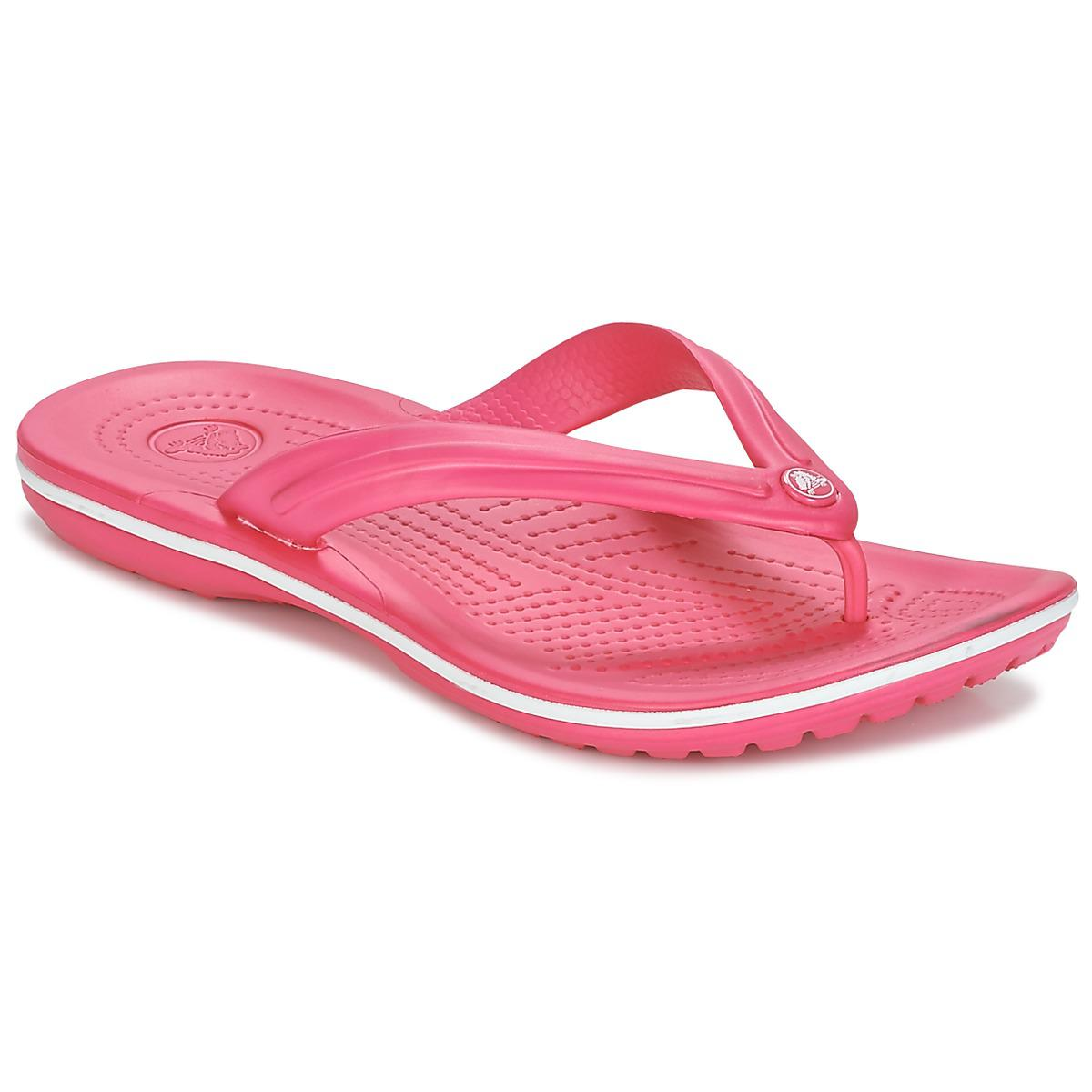 6c076c326 Crocs™ Crocband Flip Women s Flip Flops   Sandals (shoes) In Pink in ...