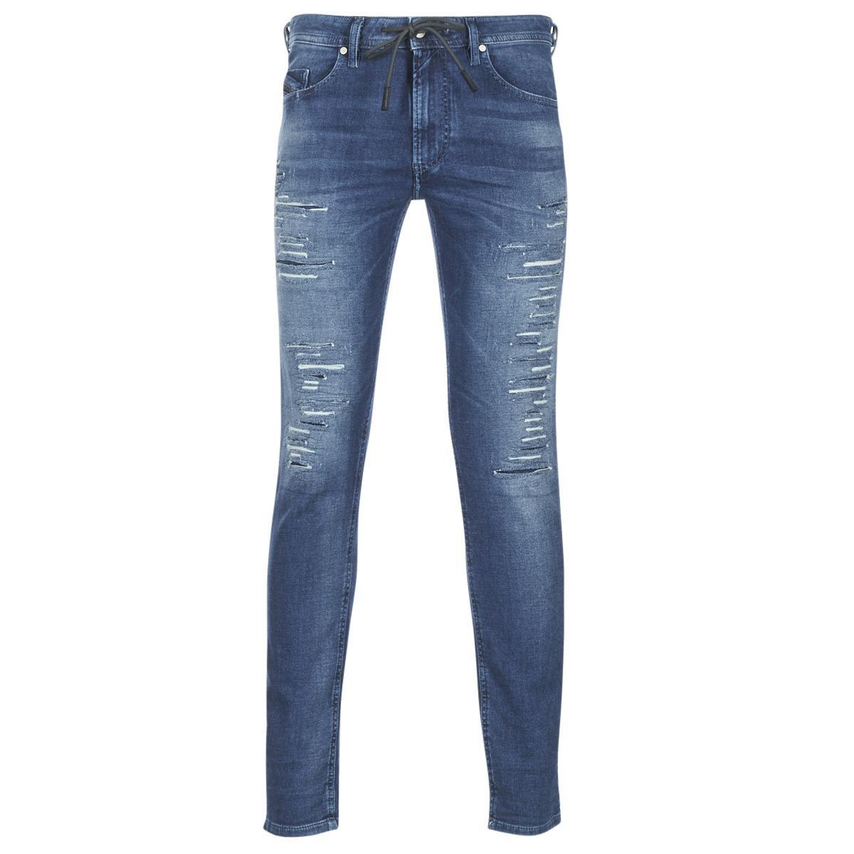 38da58fb DIESEL Thommer JOGGJEANS Skinny Jeans in Blue for Men - Save 1% - Lyst