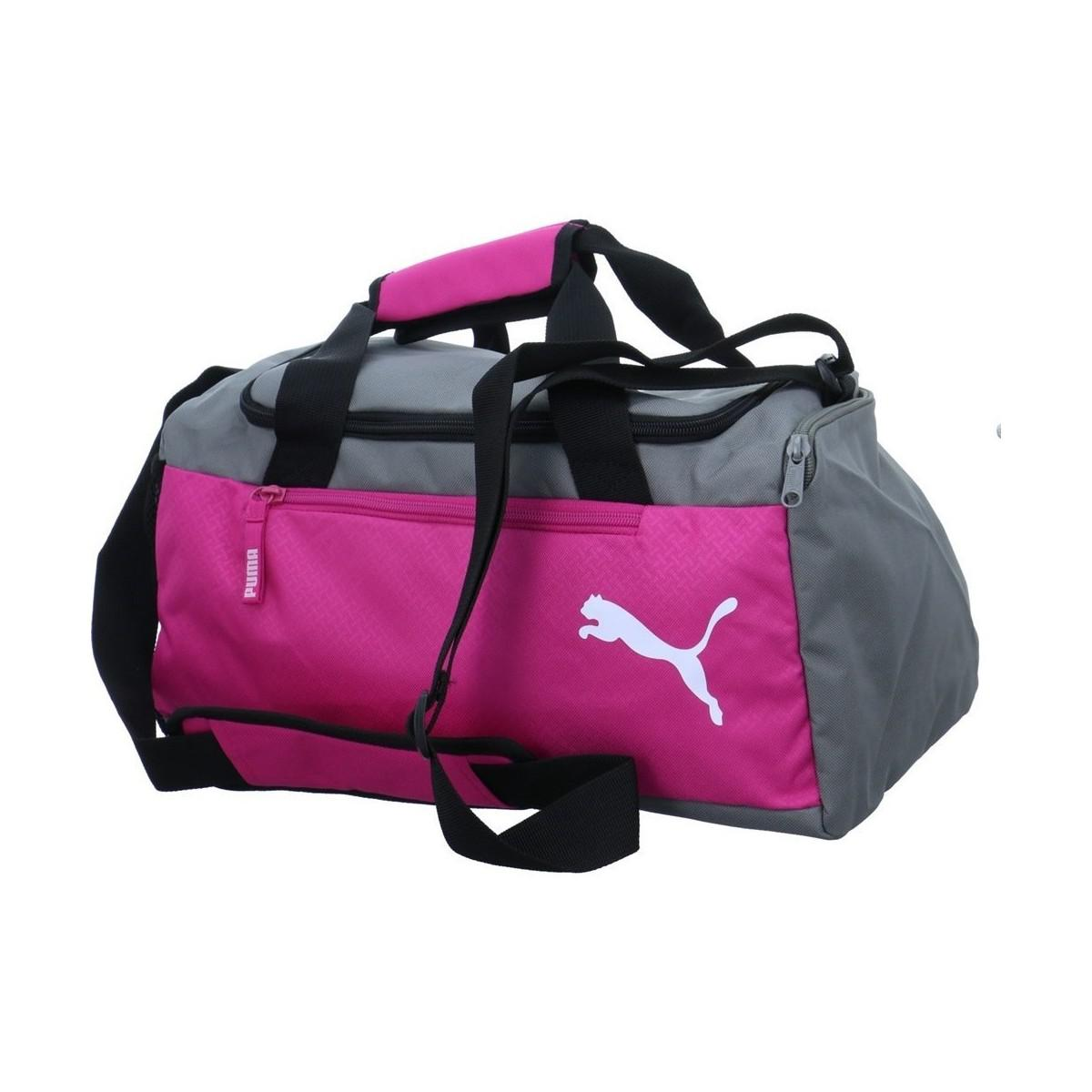 3b5c6eec1b51 PUMA Fundamentals Sports Bag Women s Sports Bag In Grey in Gray for ...