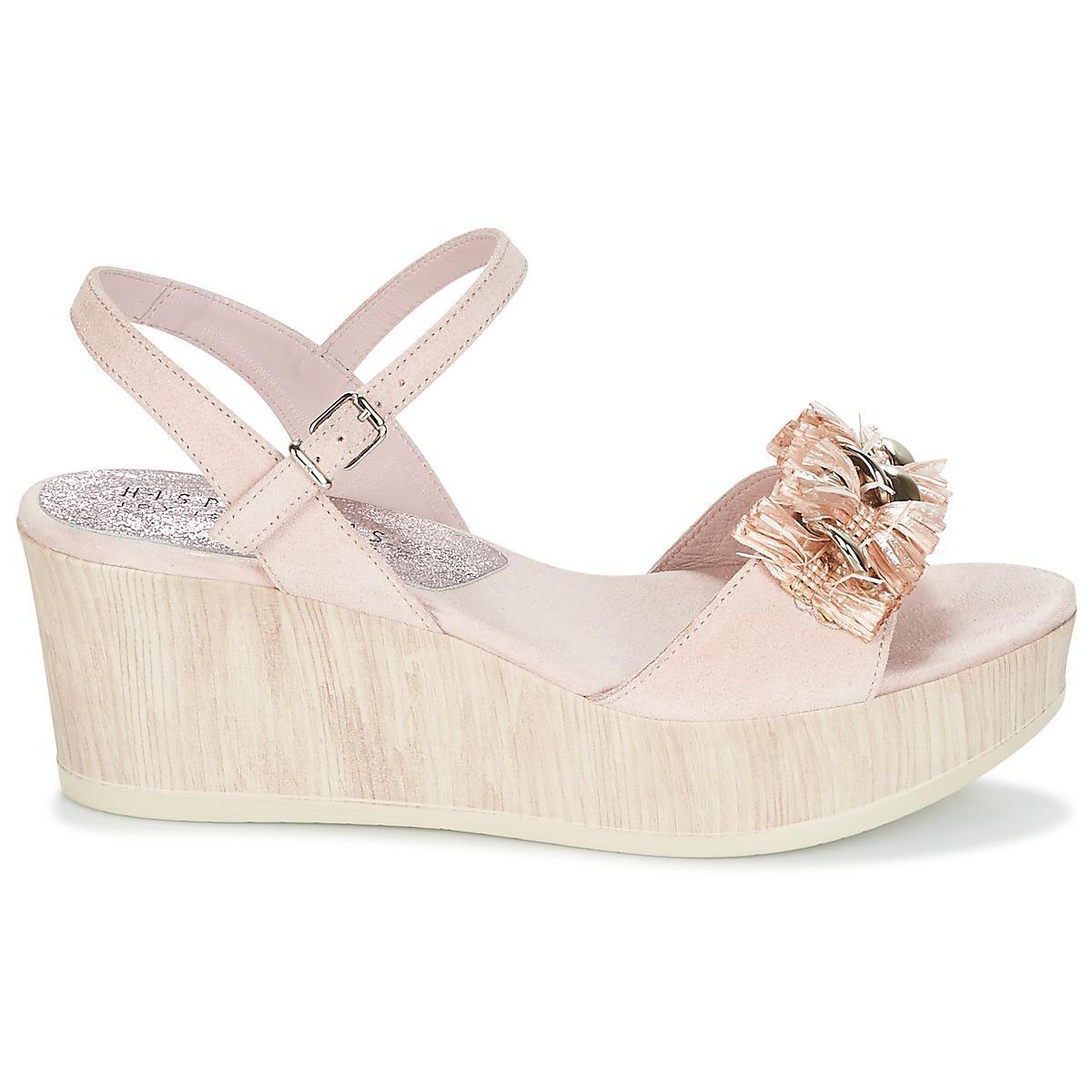 ba293c3b8d417 Hispanitas - Corfu Women s Sandals In Pink - Lyst. View fullscreen