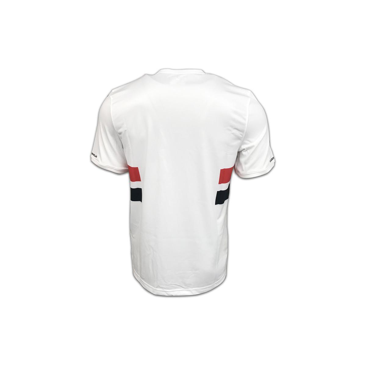 552b0c19b Under Armour 2017-2018 Sao Paolo Home Football Shirt Men s T Shirt ...