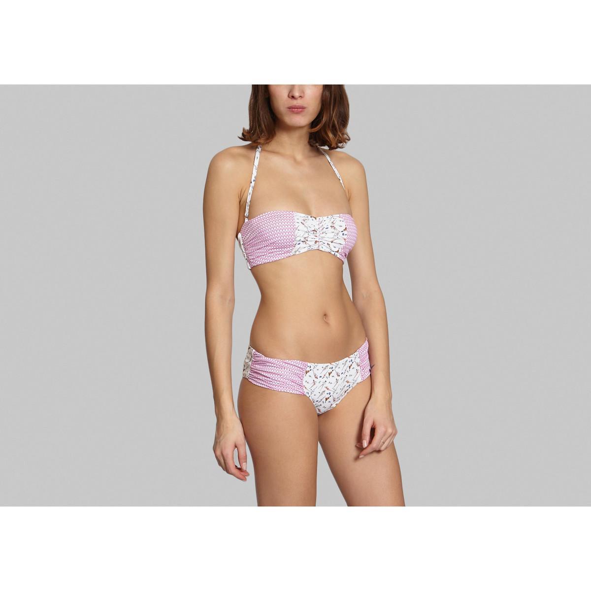 Karma Bas de bikini à lacets, Lilas