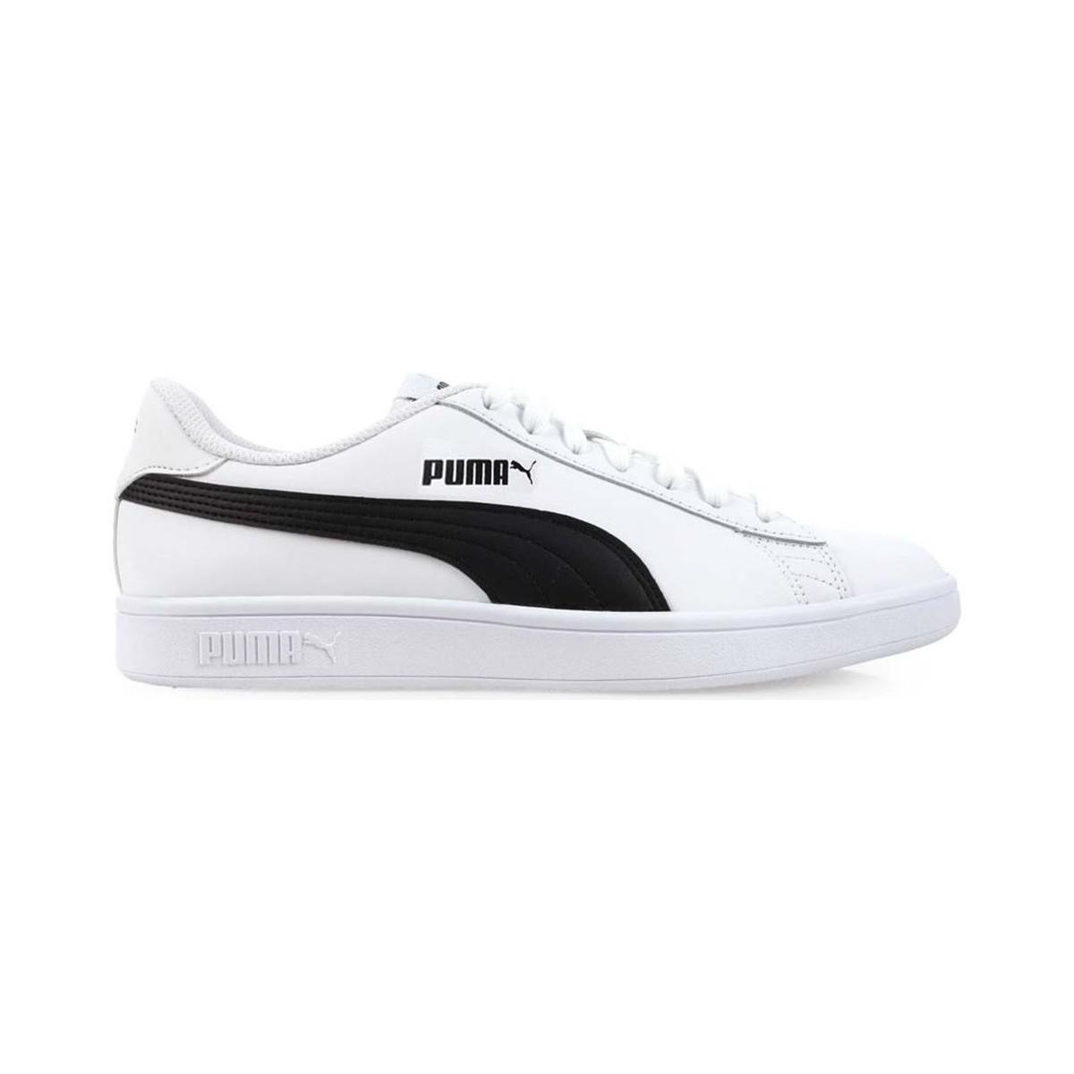 Puma Smash V2 L Men s Shoes (trainers) In White in White for Men - Lyst 8511b349f