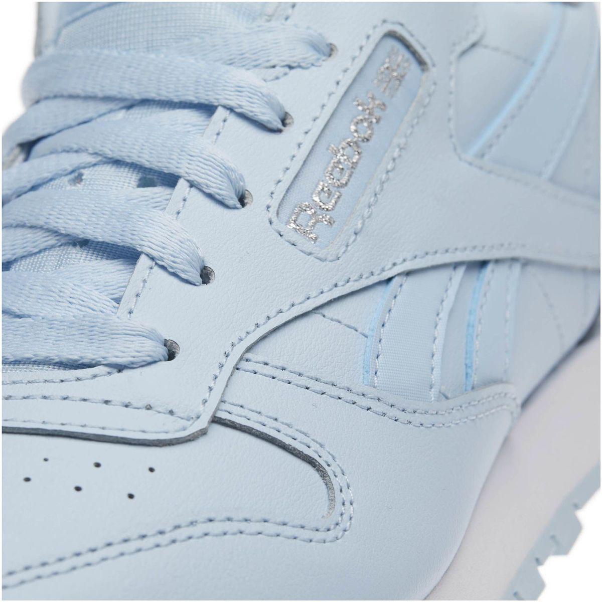 336e681e2f6 Reebok - Classic Leather Pastel - Primaria Women s Shoes (trainers) In Blue  - Lyst. View fullscreen
