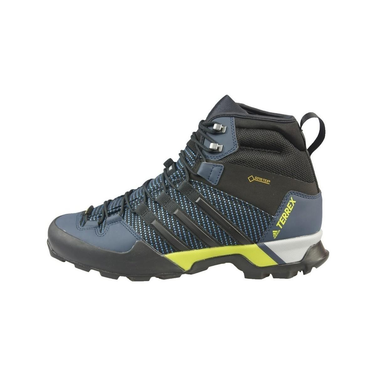 181c15a500b adidas Terrex Scope High Gtx Men s Walking Boots In Blue in Blue for ...
