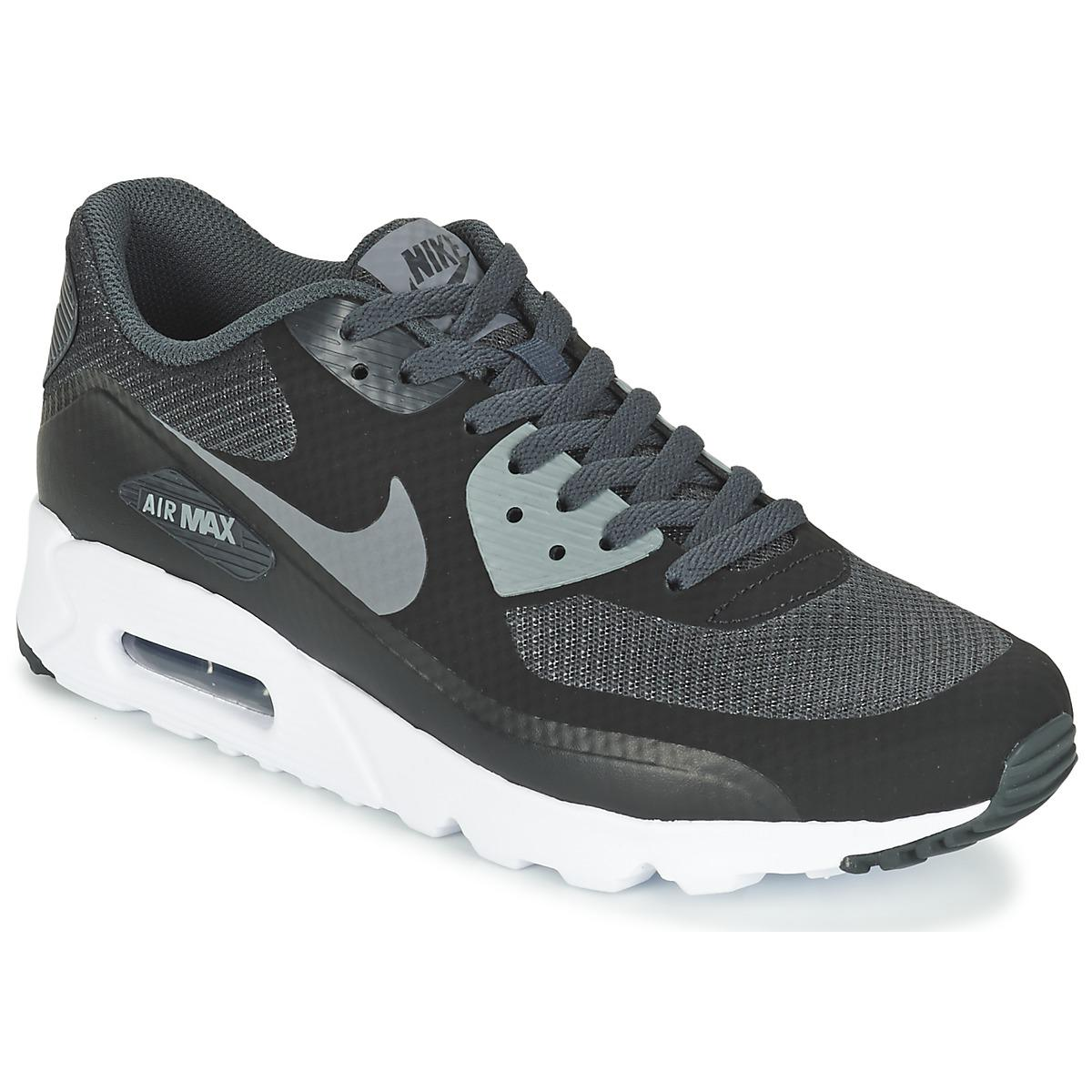 best service 9f6e4 09a17 Nike - Gray Air Max 90 Ultra Essential Men s Shoes (trainers) In Grey for. View  fullscreen