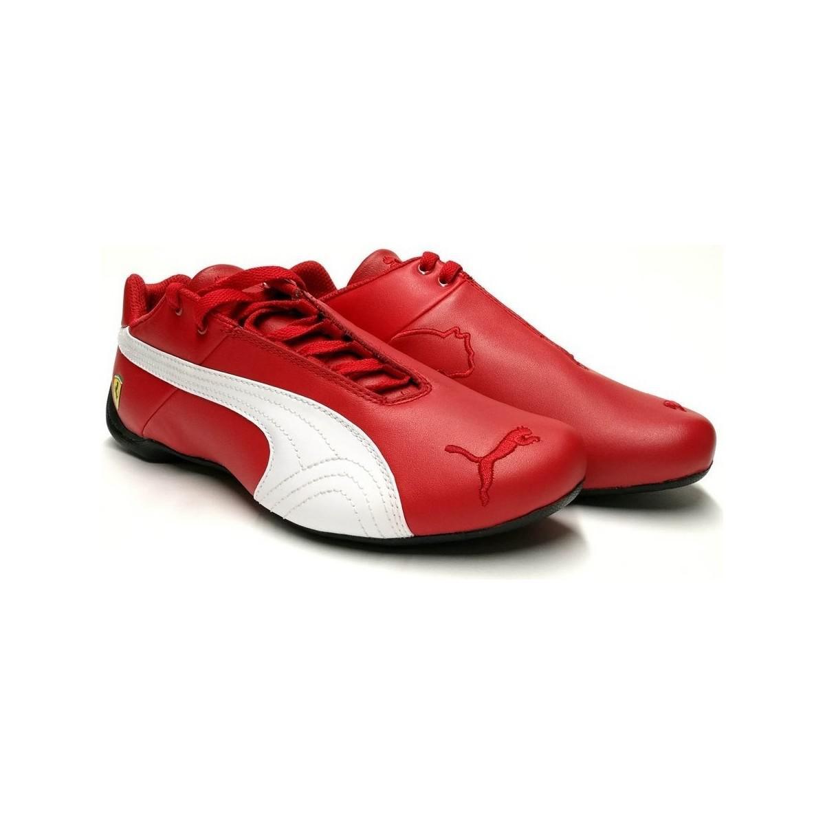 Puma Sepatu Sneaker Ferrari Sf Evo Cat Sock Lace 30613802 Hitam ... 43270f0c72