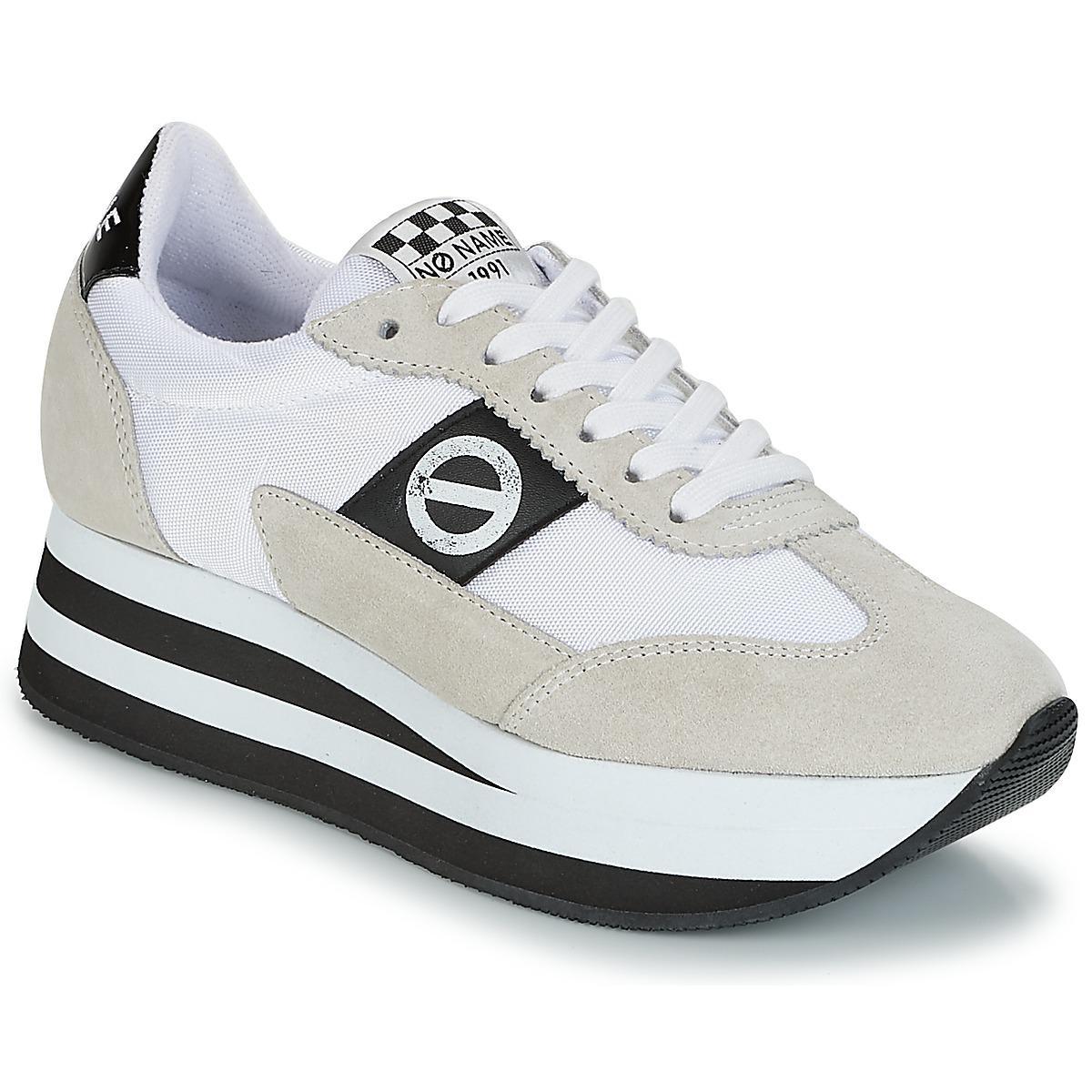2644277578 Femmes No Lyst Blanc Name Flex En Coloris Jogger Chaussures SzVqUpM