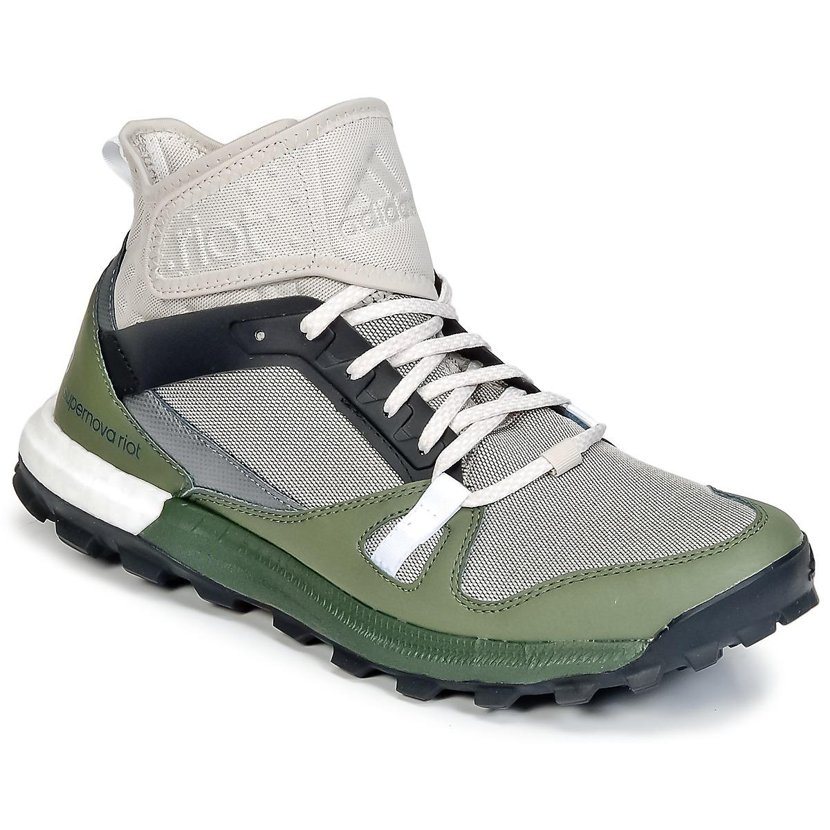 63f8843b7 adidas Supernova Riot M Running Trainers in Green for Men - Lyst