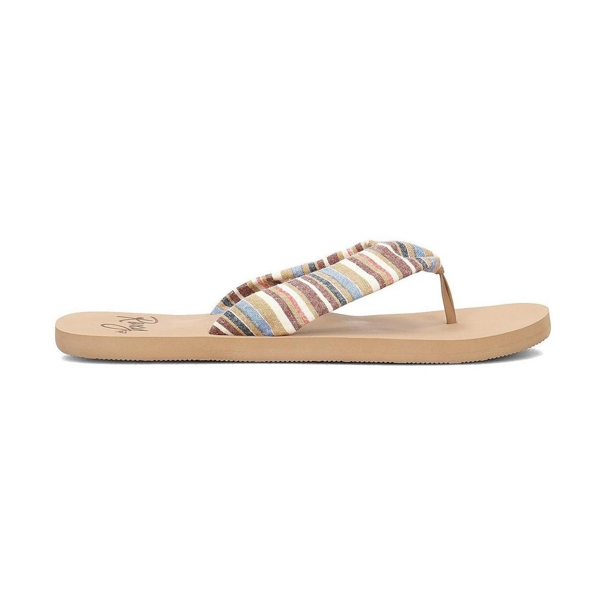 286b2c4636eb Lyst - Roxy Arjl100674mlt Women s Flip Flops   Sandals (shoes) In ...