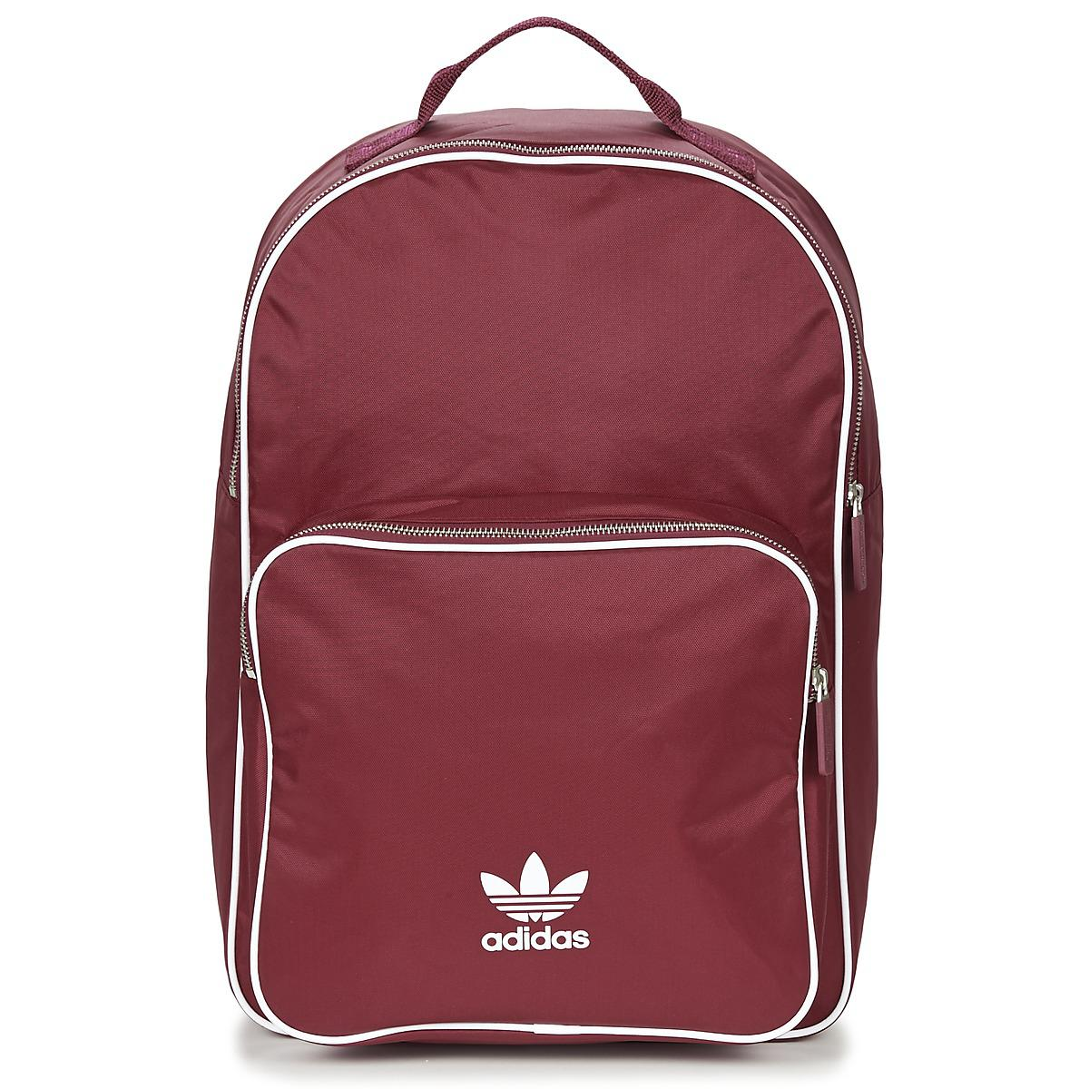 30548eefb7d Adidas - Red Classic Adicolor Bp Backpack for Men - Lyst. View fullscreen