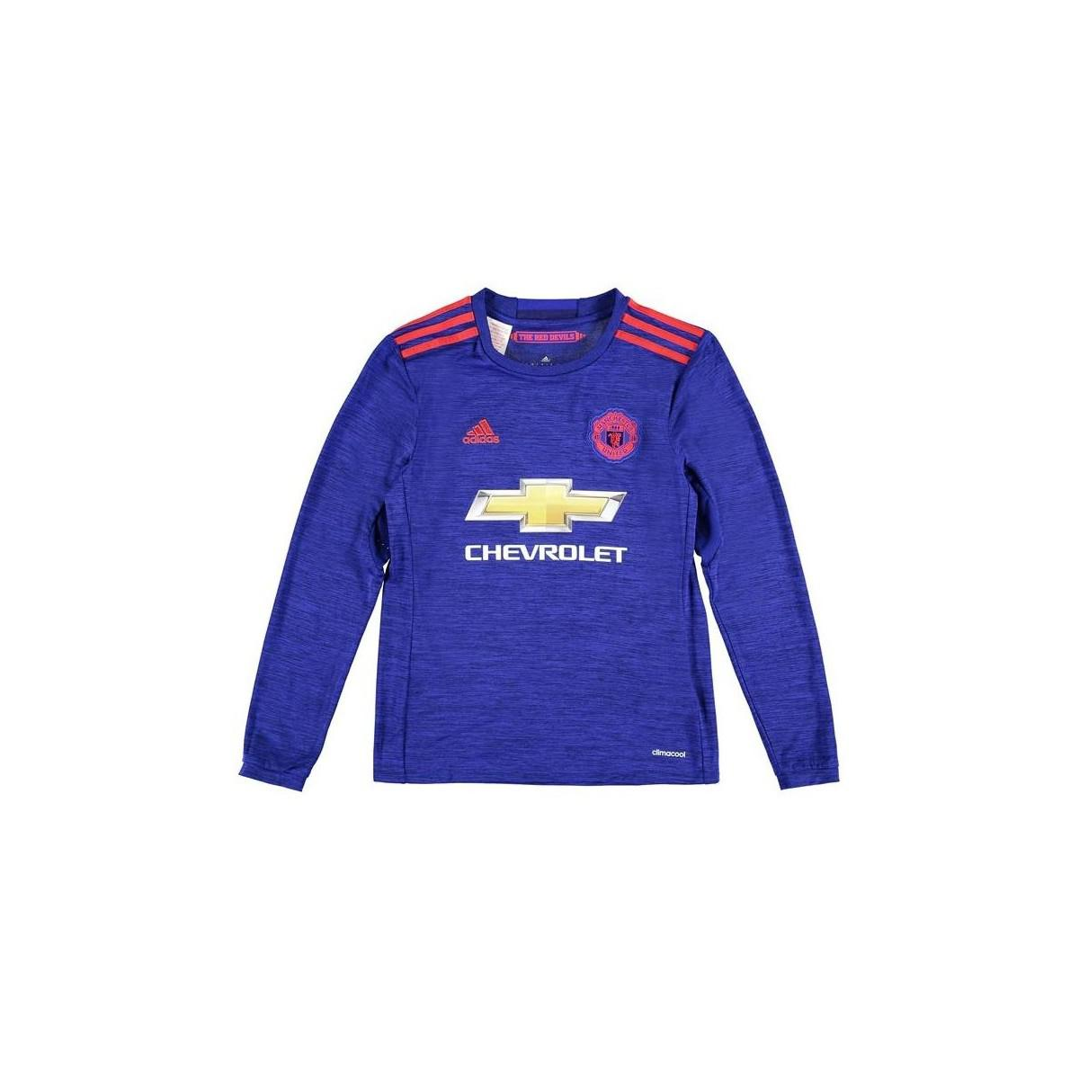 1366cccaf adidas 2016-17 Man United Away Long Sleeve Shirt (ibrahimovic 9 ...