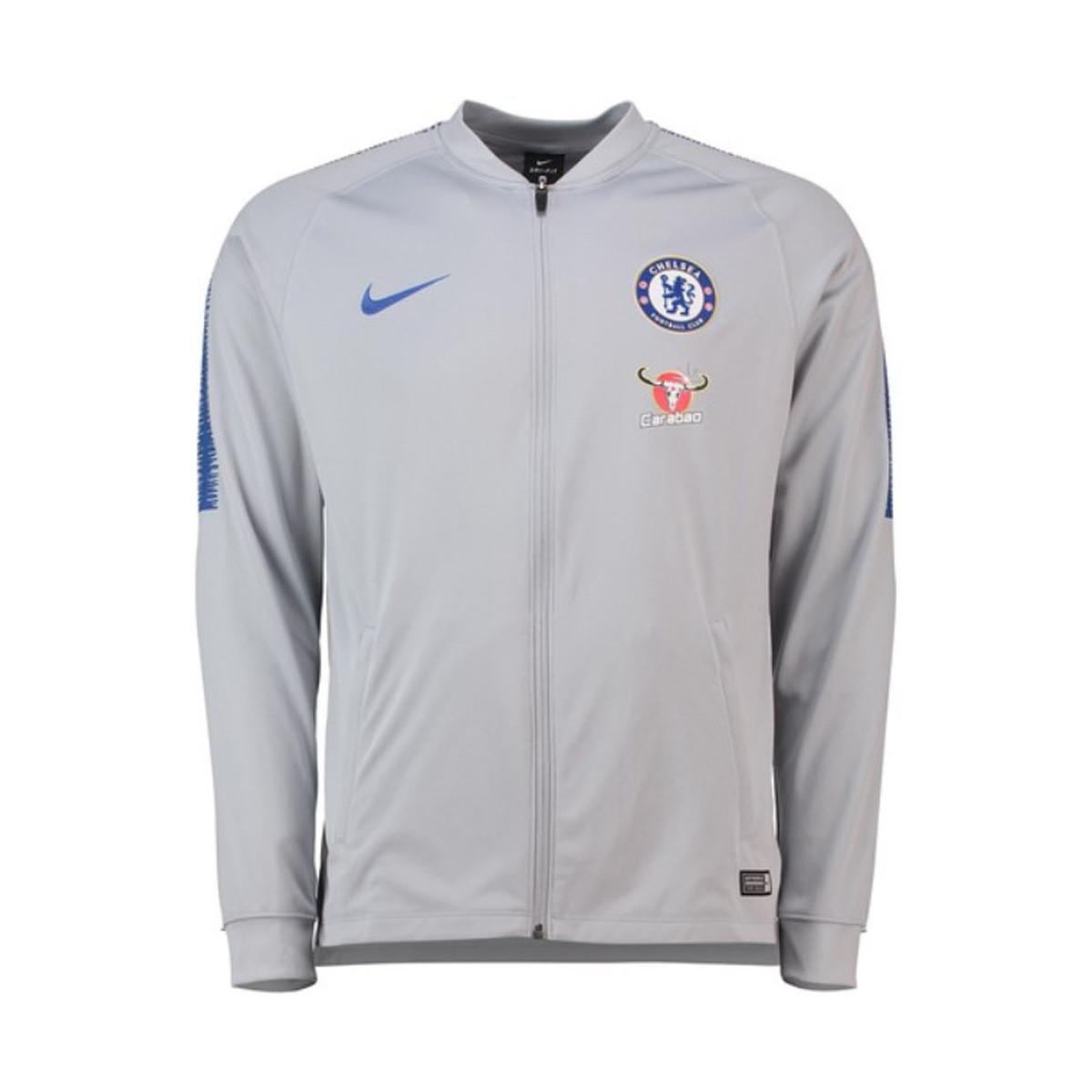 fe77d3c68 Nike 2018-2019 Chelsea Squad Track Jacket (wolf) Men's Tracksuit ...