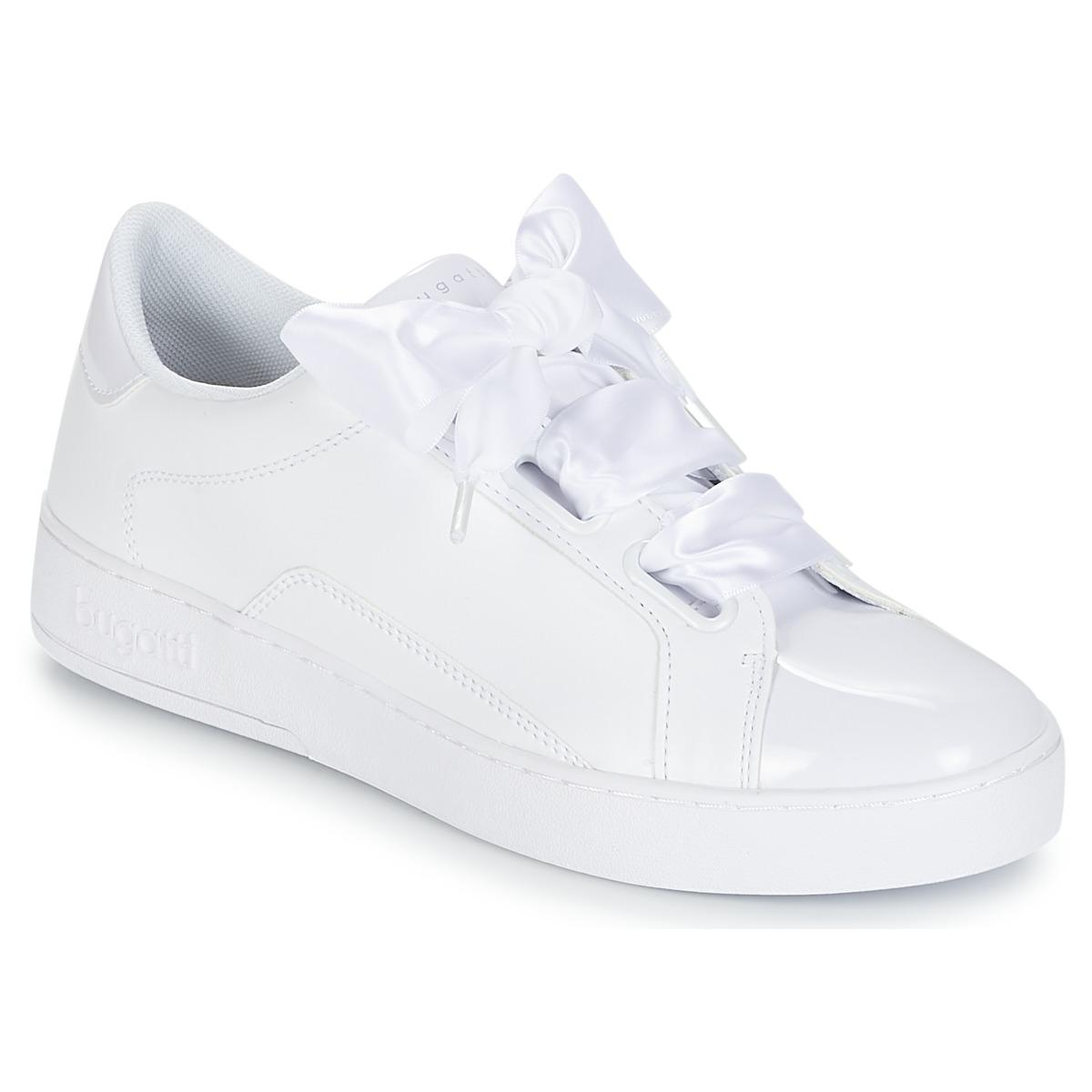 Bugatti - Women s Shoes (trainers) In White in White - Lyst dabeaaf960