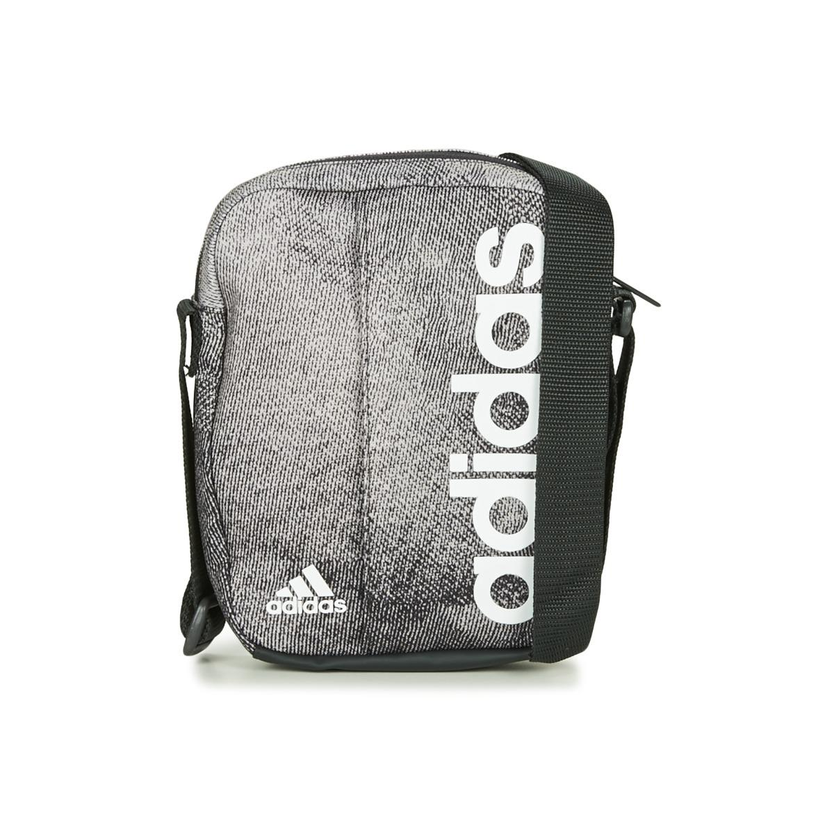 37de0147b338 adidas Linear Organizer Men s Pouch In Grey in Gray for Men - Lyst