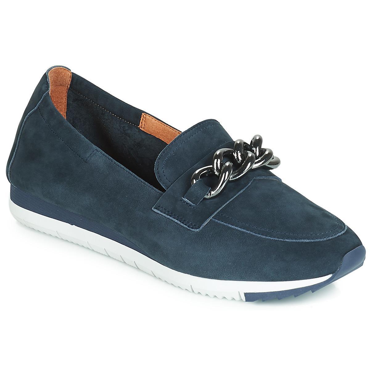 Mam Zelle Envila Women s Loafers   Casual Shoes In Blue in Blue - Lyst