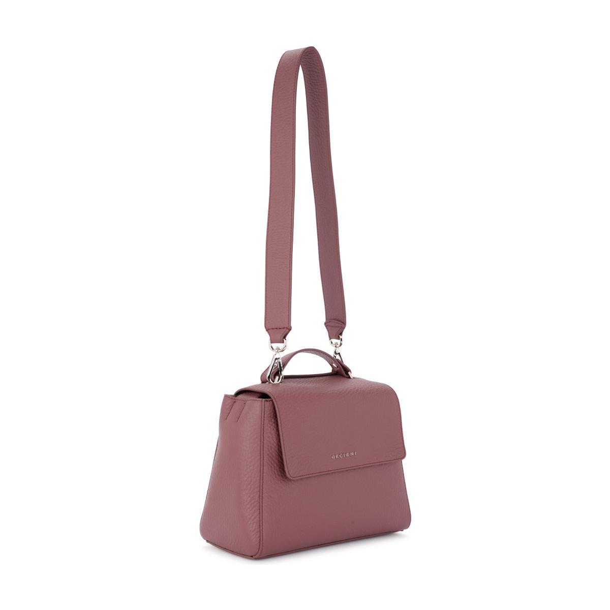 Orciani - Sveva Small Terracotta Tumbled Leather Handbag Women s Handbags  In Red for Men - Lyst. View fullscreen 63f5c25151ee4