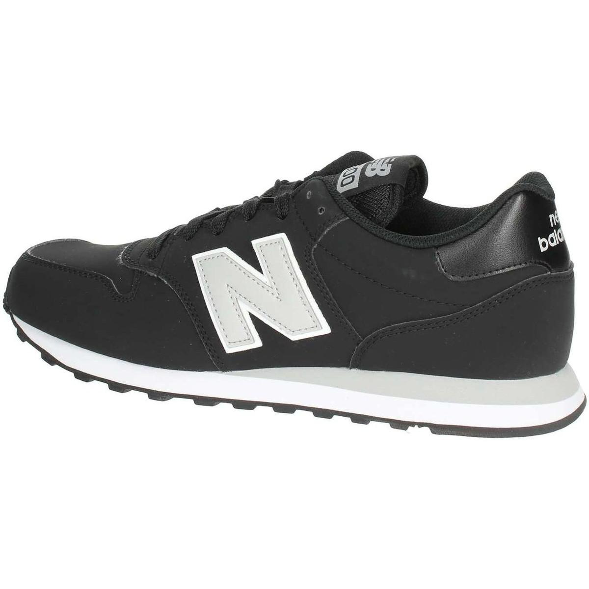 New Balance Gm500bkg Men s Shoes (trainers) In Black in Black for ... 4da5edc8936
