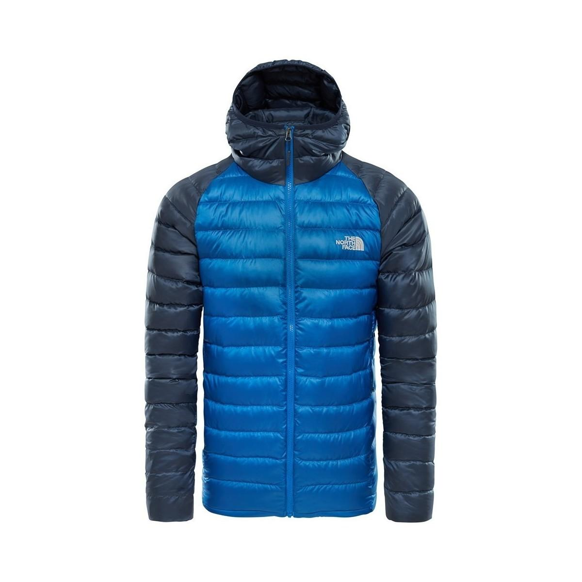 158a833127 The North Face Trevail Hoodie Turkish Seau Men's Jacket In Blue in ...