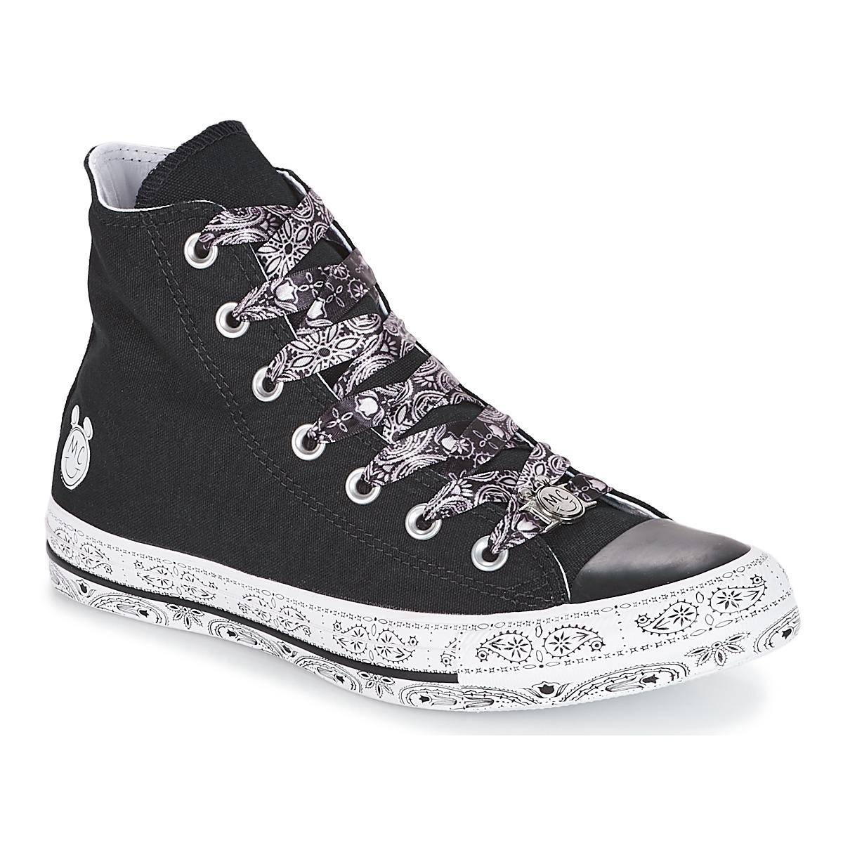 ab087aafb2 Converse Chuck Taylor All Star-hi Miley Cyrus Women s Shoes (high ...