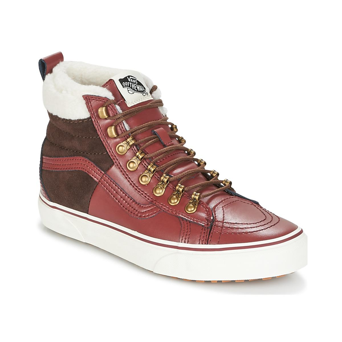 14e4242f7c Vans Sk8-hi 46 Mte Dx Women s Shoes (high-top Trainers) In Red in ...