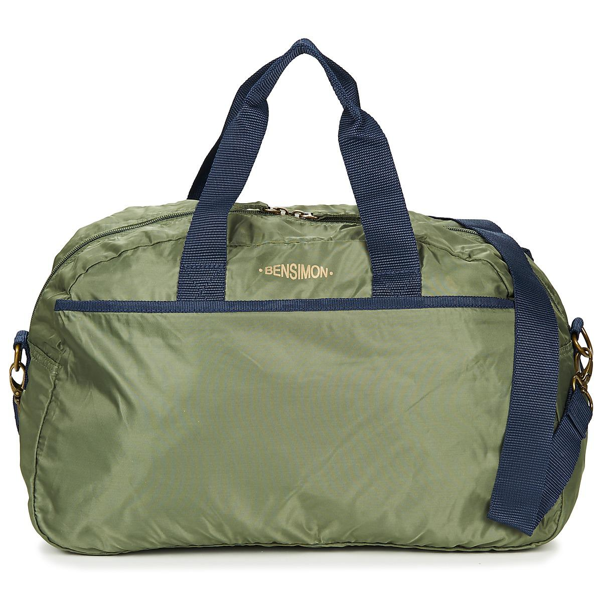 2a374c56ce0d Bensimon Sport Bag Men s Sports Bag In Green in Green for Men - Lyst