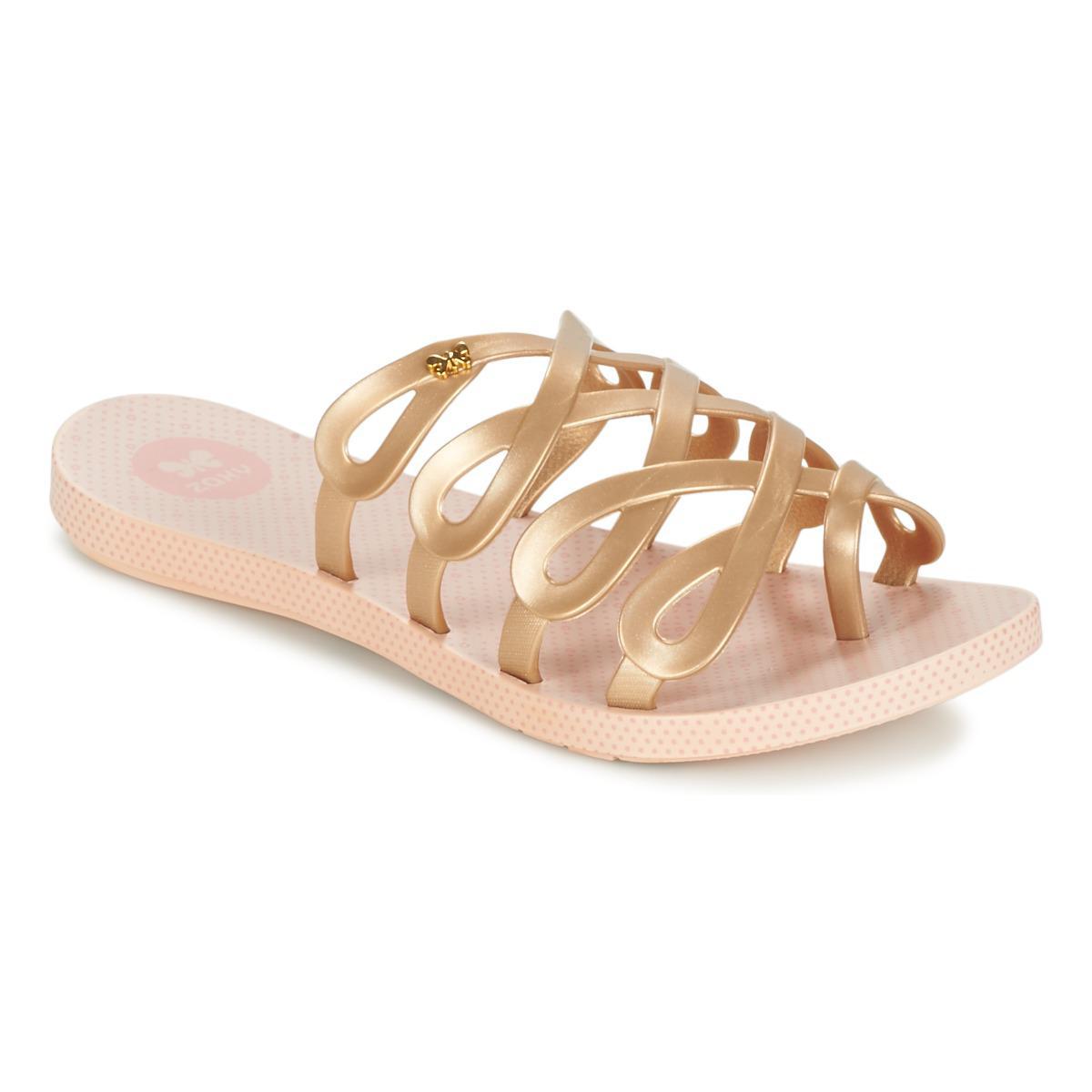 c4ba9bbd856c Zaxy Infinity Women s Flip Flops   Sandals (shoes) In Gold in ...