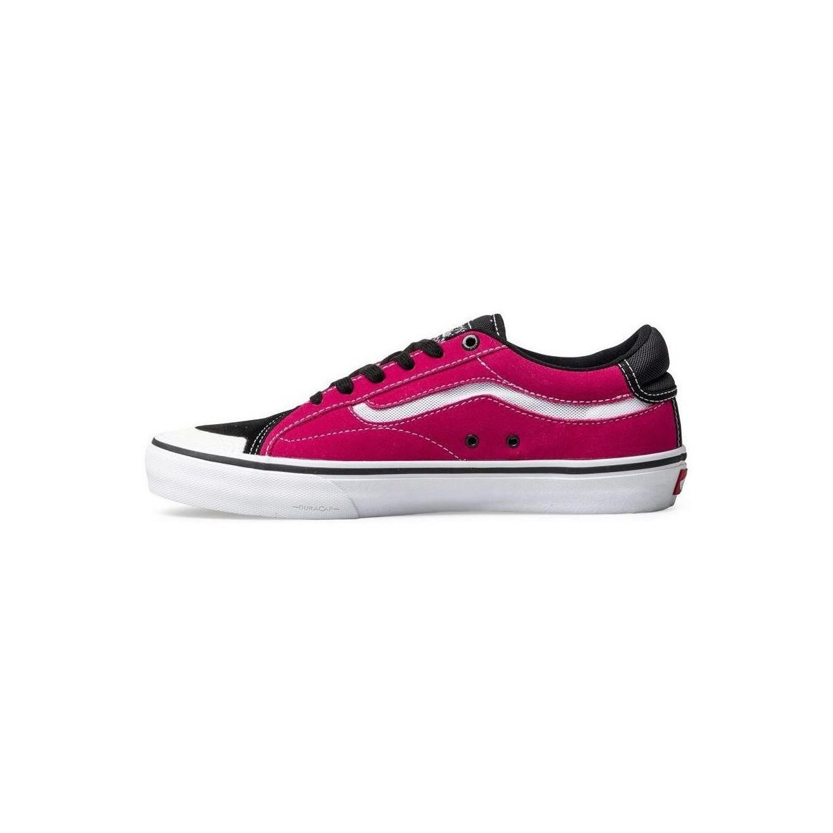 e30d0f42def Vans Tnt Advanced Prototype Men s Shoes (trainers) In Pink in Pink ...