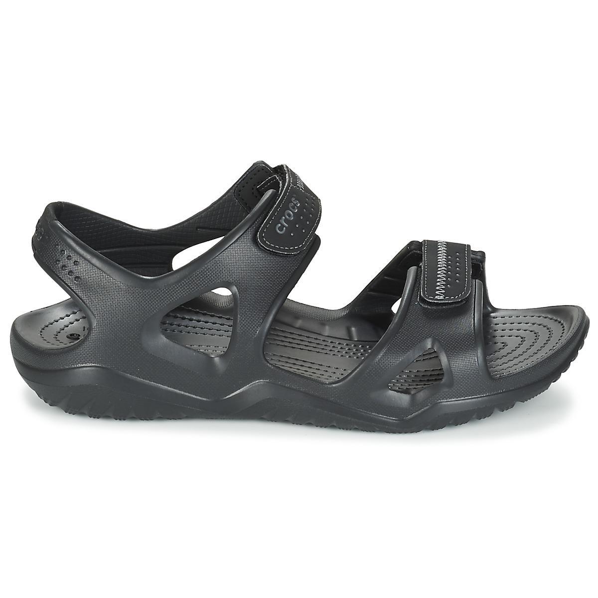 e25c19096c4 ... Black Swiftwater River Sandal Sandals for Men - Lyst. View fullscreen