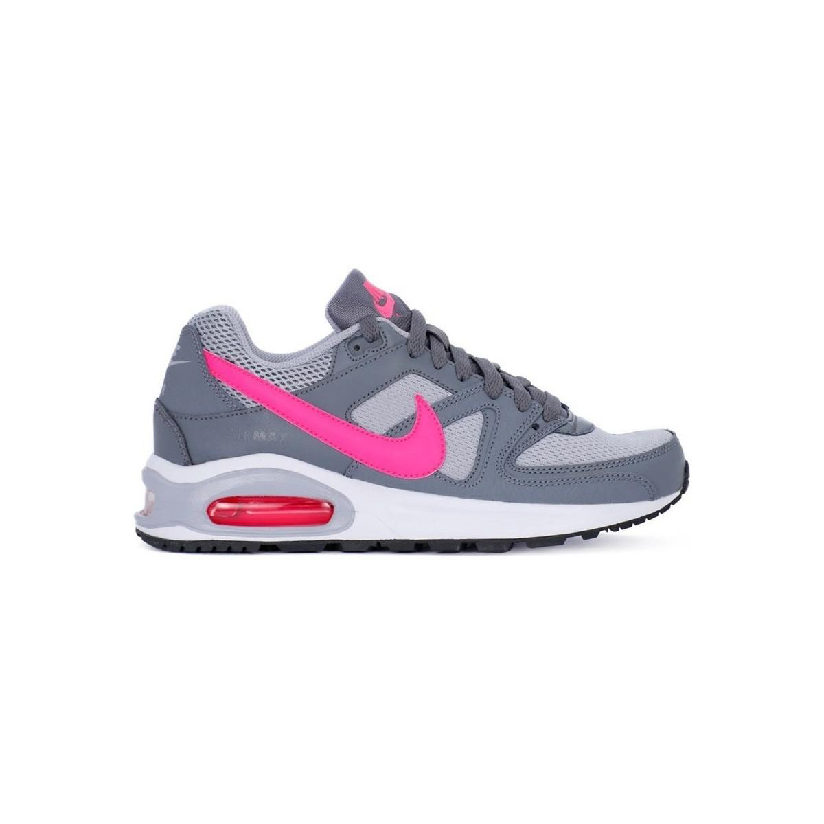 54189fb082 Nike Air Max Command Flex Gs Women's Shoes (trainers) In Grey in ...