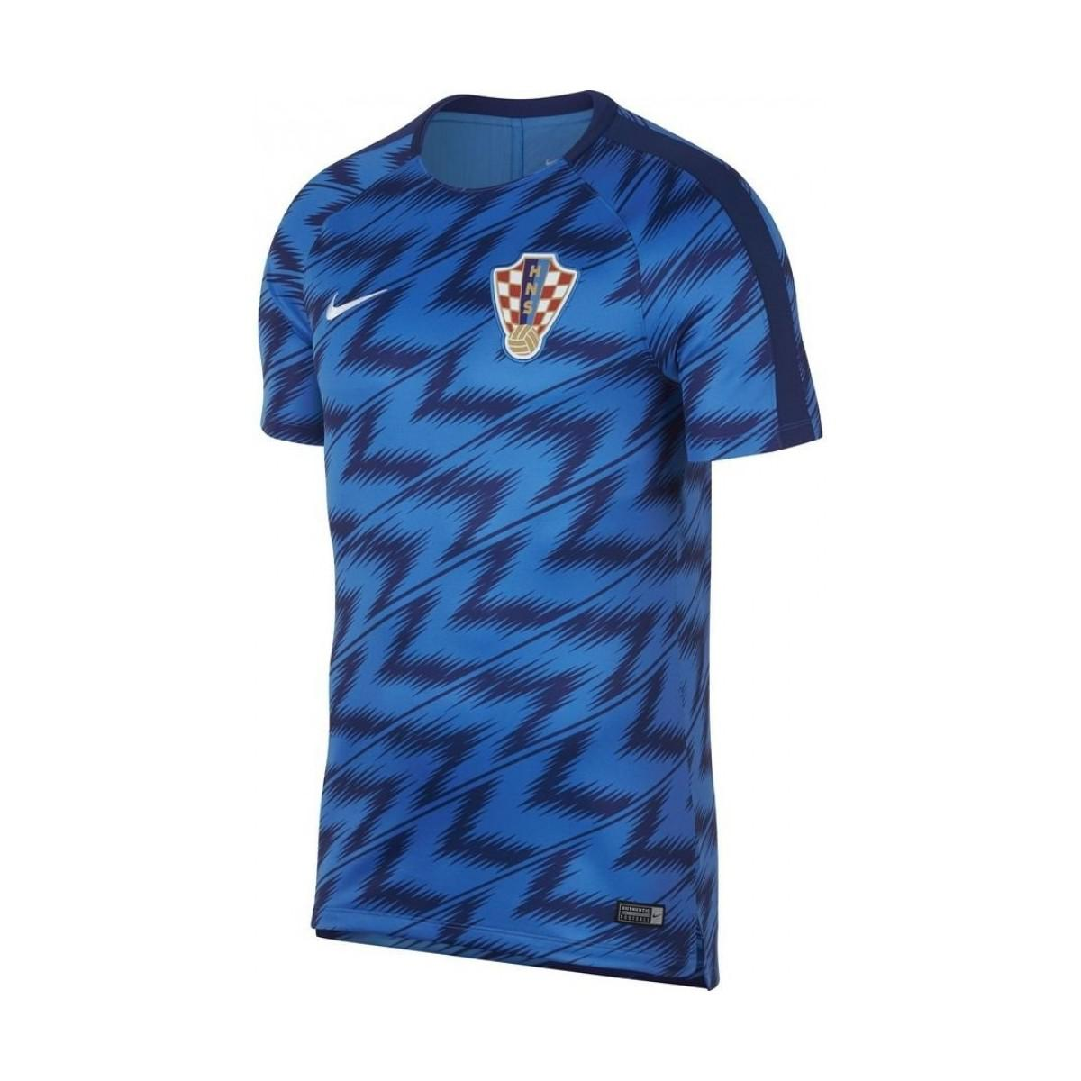 Nike 2018-2019 Croatia Pre-match Training Shirt Men s T Shirt In ... 01e65274e