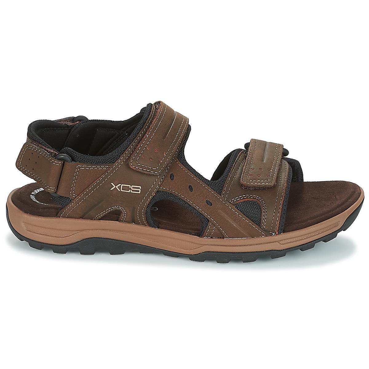 562f61295c1cb Rockport Tt Velcro Sandal Men s Sandals In Brown in Brown for Men - Lyst