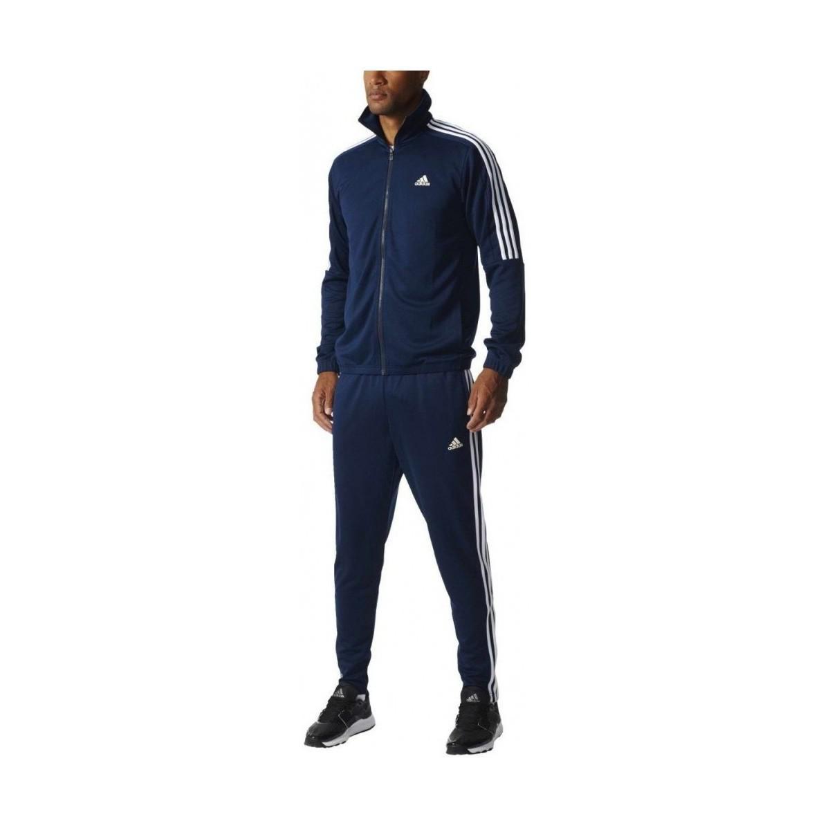 94a0c340dae Lyst - Tiro Ts Jogging Homme Bleu femmes Ensembles de survêtement en ...