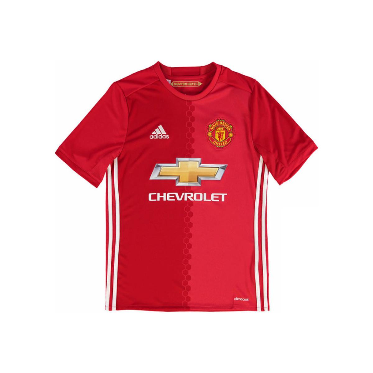 4910e959e56 Adidas - 2016-17 Manchester United Home Shirt (pogba 6) - Kids Women s.  View fullscreen