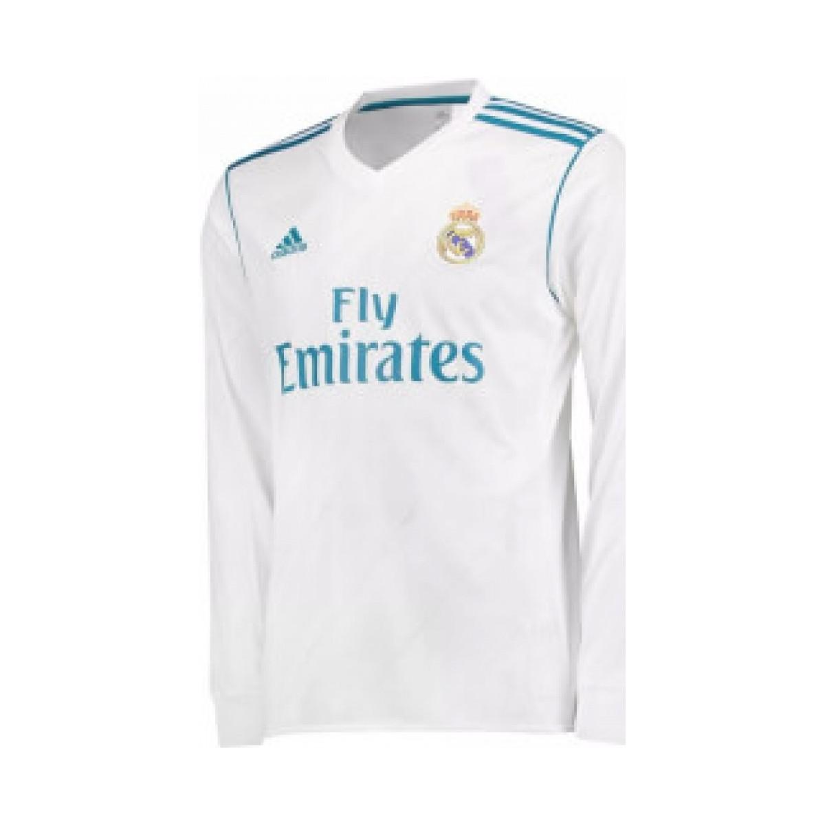 6235931c1 Adidas 2017-18 Real Madrid Long Sleeve Home Shirt (isco 22) Women s ...