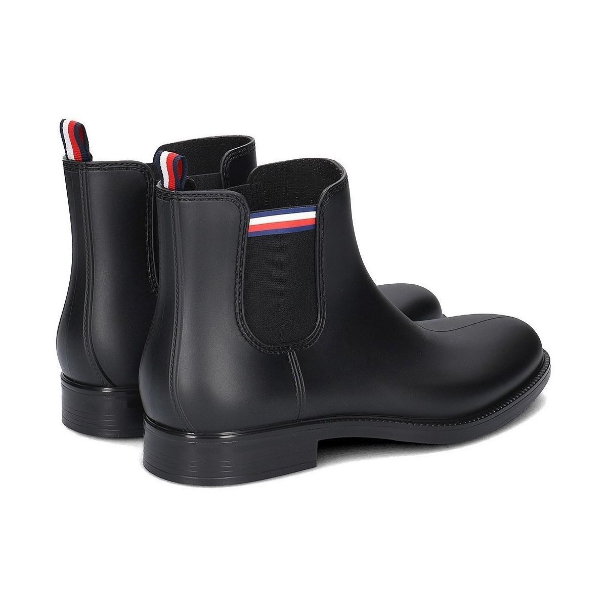 62b55e6f2bff94 Tommy Hilfiger Stream 1r Men s Snow Boots In Black in Black for Men ...