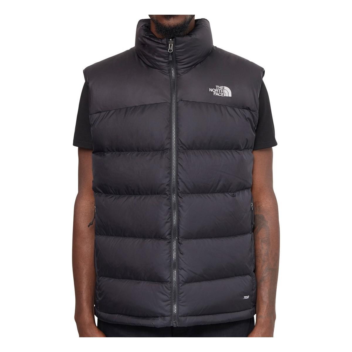 The North Face Nuptse 2 Vest Black Men s In Black in Black for Men ... cd0750149