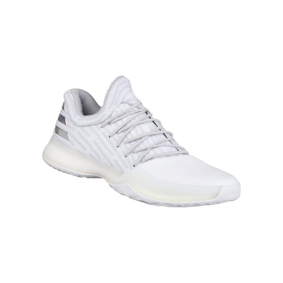 627a23942 adidas Harden Vol 1 Pk Men s Basketball Trainers (shoes) In White in ...