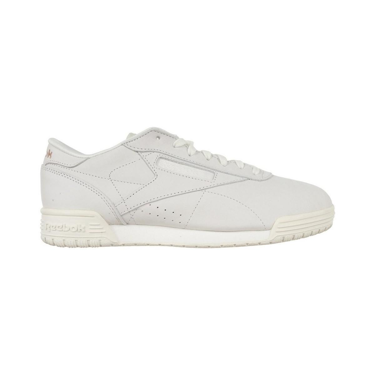 10a4a8c5369f Reebok Classic Exofit Low Cln Ftb Women s Shoes (trainers) In White ...