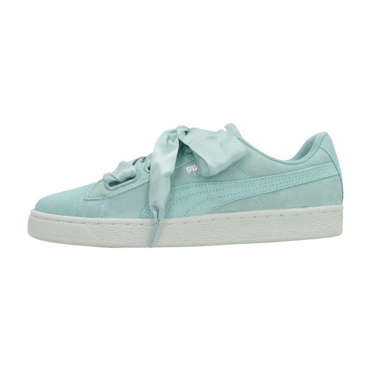 b372aceab0835b PUMA - Heart Pebble Women s Shoes (trainers) In Blue - Lyst. View fullscreen