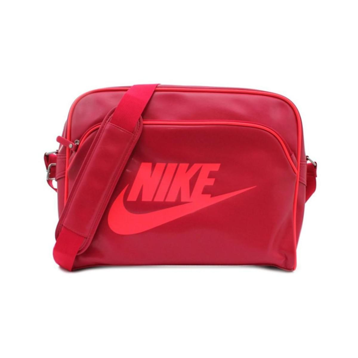 Nike Heritage Si Track Men s Messenger Bag In Pink in Pink for Men ... 0e21ac7b38889