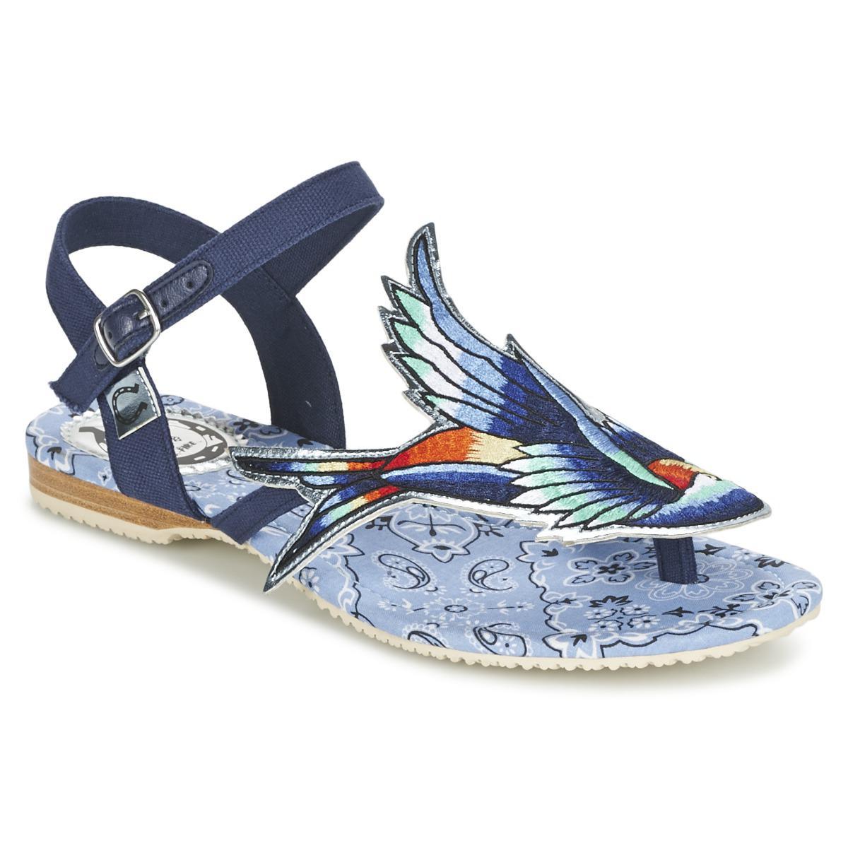 half off b8f52 b9bbf miss-lfire-blue-Bluebird-Womens-Sandals-In-Blue.jpeg
