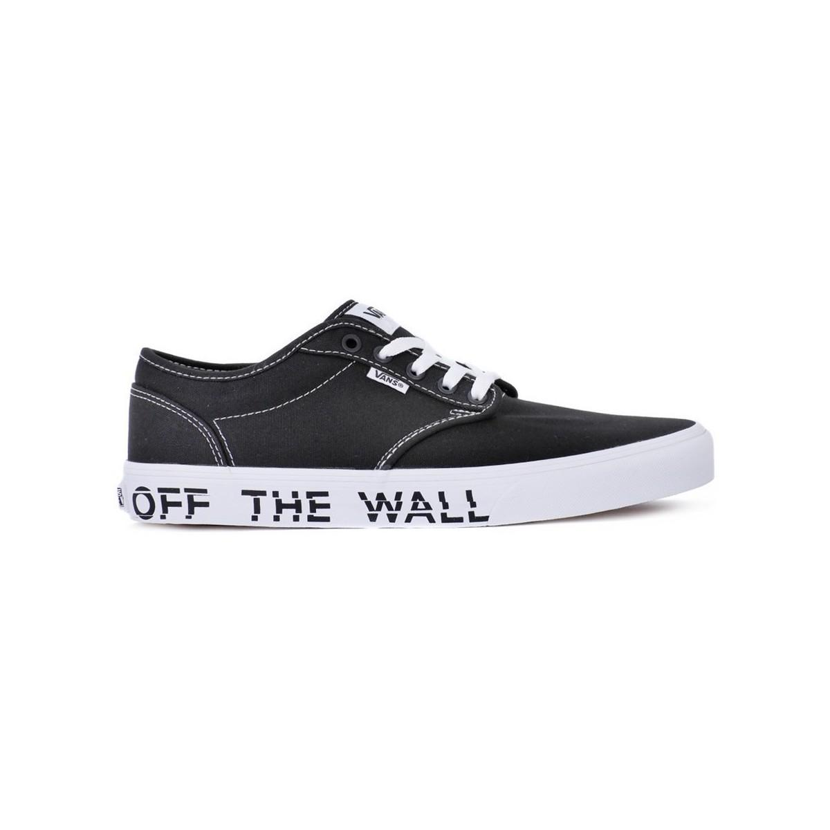e8073d72f4 Vans Atwood Printed Fox Men s Shoes (trainers) In Black in Black for ...