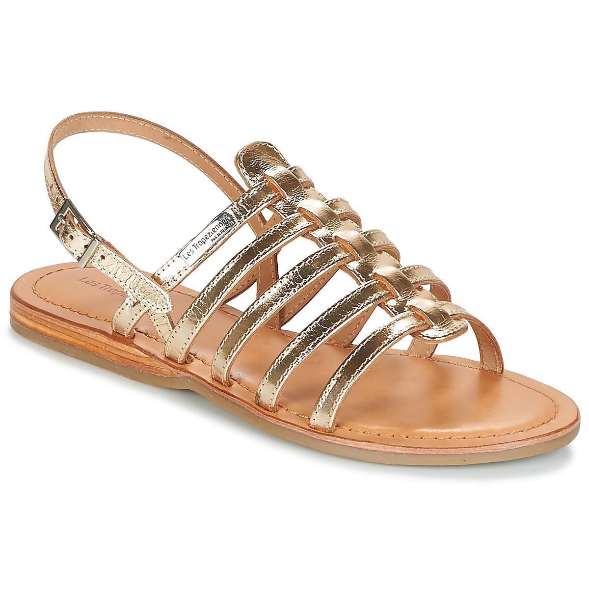 c29f84cec537 Les Tropéziennes Par M Belarbi Havapo Women s Sandals In Gold in ...