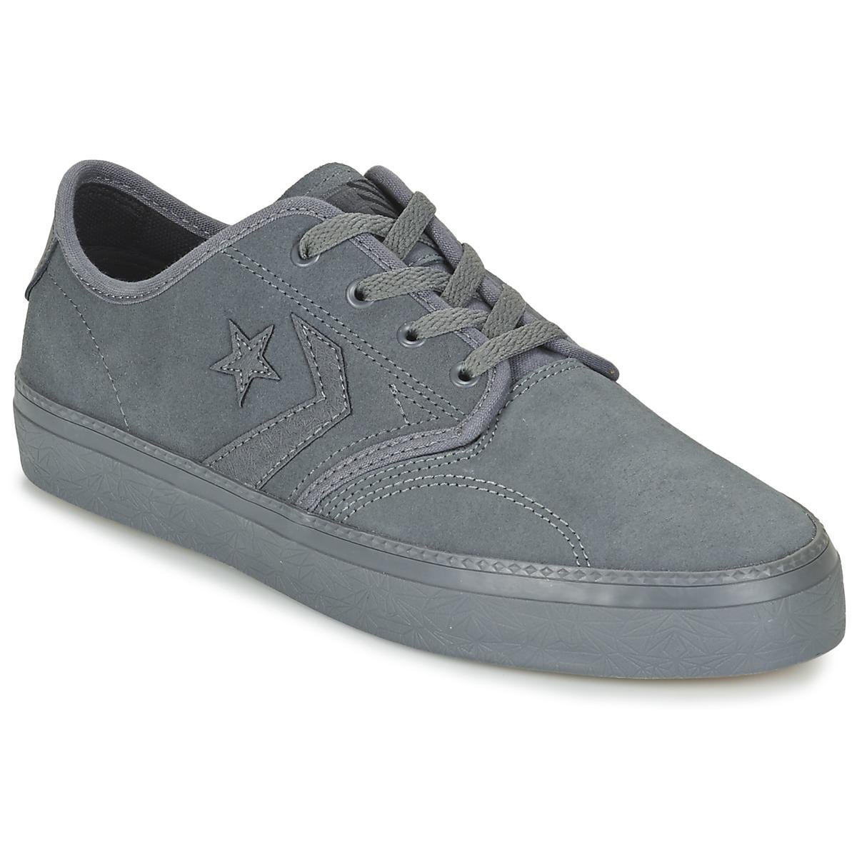 f82e5131dc88 Converse Cons Zakim Suede Ox Men s Shoes (trainers) In Grey in Gray ...