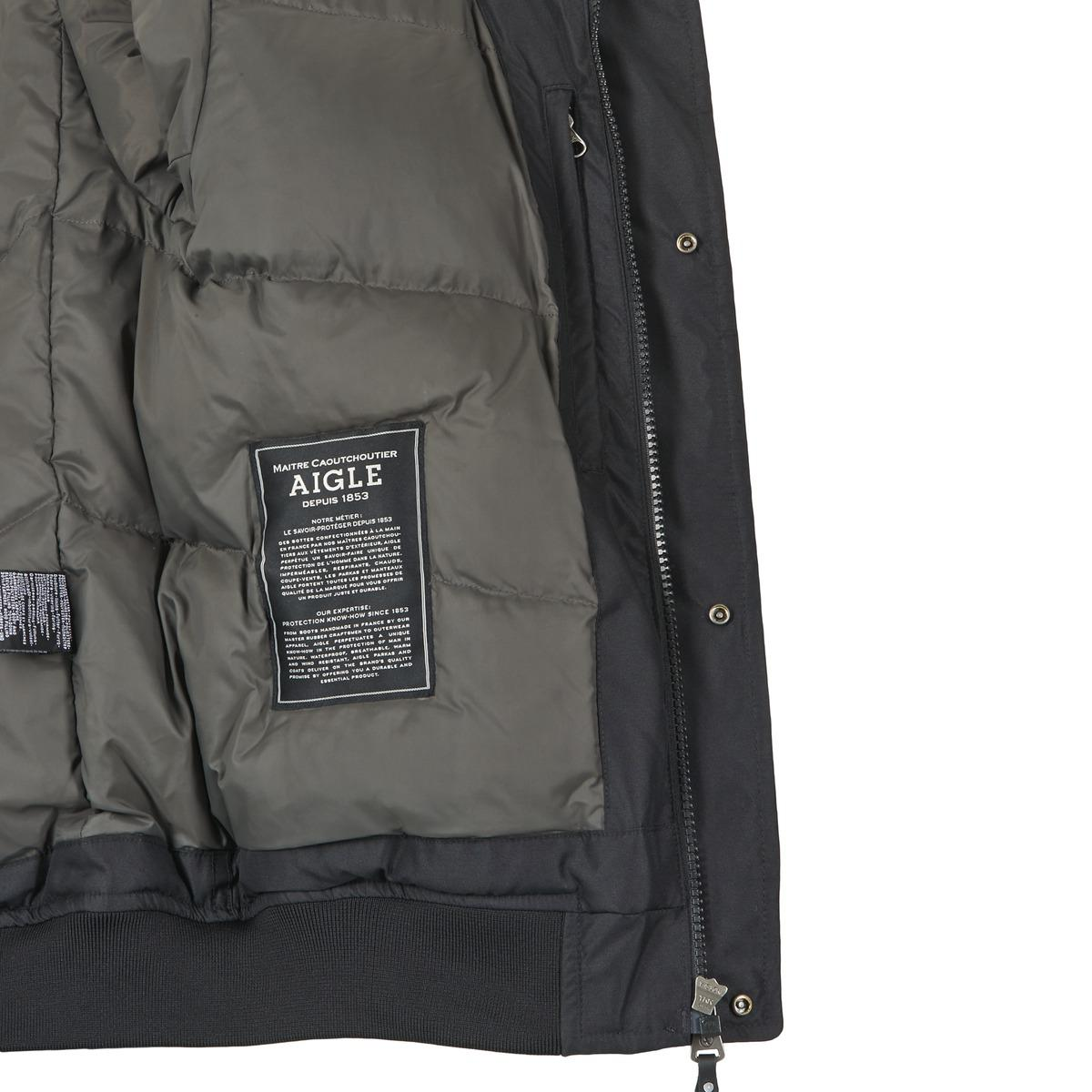 f5bcf86aa89d Aigle Rockyfield Mtd Jacket in Black for Men - Lyst