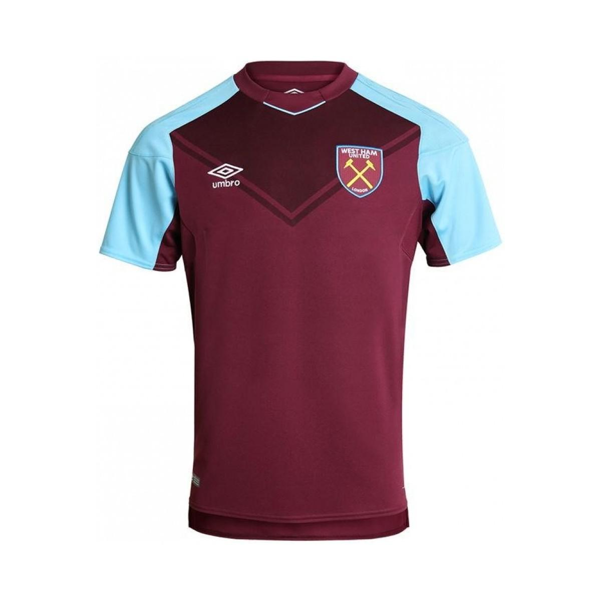 eeac8d99f Umbro - Red 2017-18 West Ham Home Shirt (chicharito 17) - Kids. View  fullscreen
