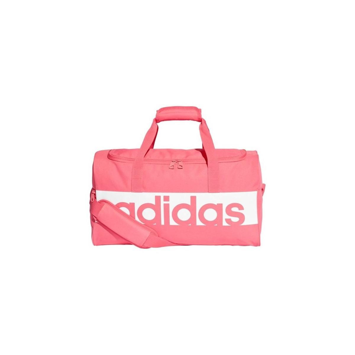cb470bc6f20e adidas Lin Per Tb S Women s Sports Bag In Multicolour in Pink for ...